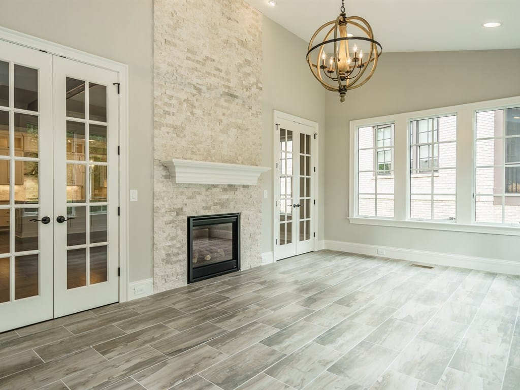 Sun Room by a Premiere Homes Builder