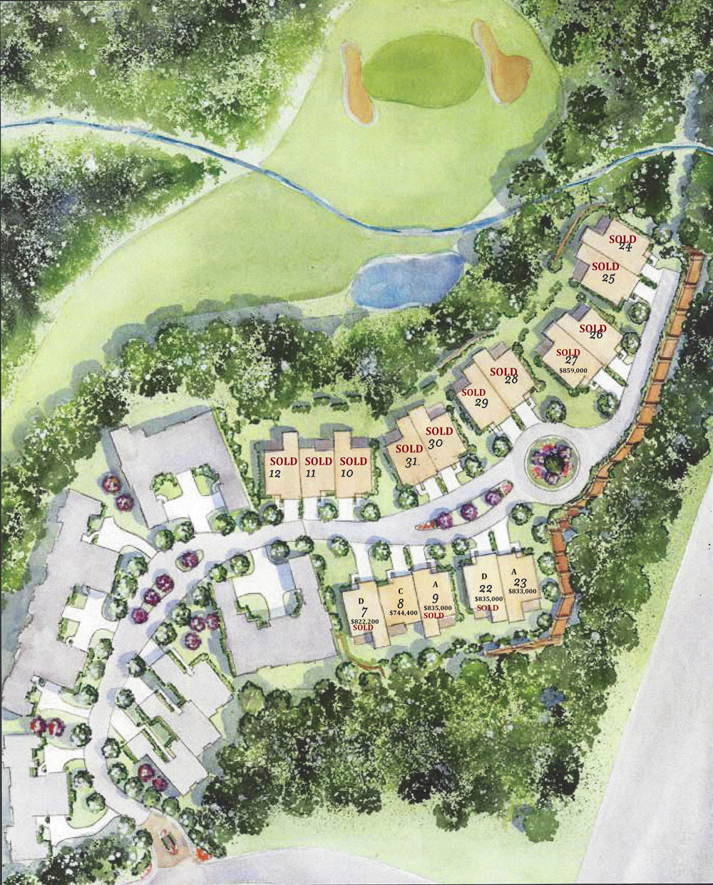 Balmoral available homes site map